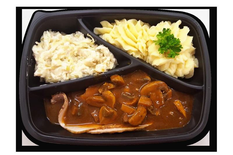 gebraden-fricandeau-met-champignonsaus-aardappelpuree-en-spitskool