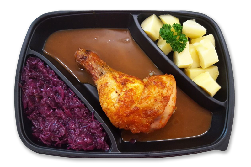 omas-kippenbout-met-gekookte-aardappelen-en-rode-kool